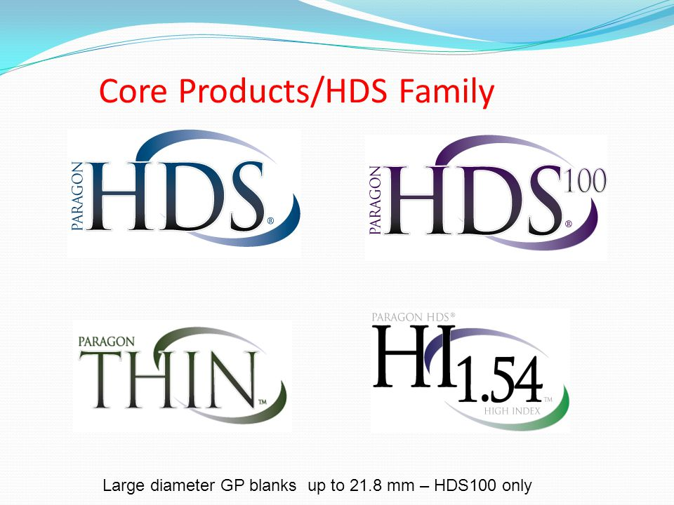 Core Products/HDS Family