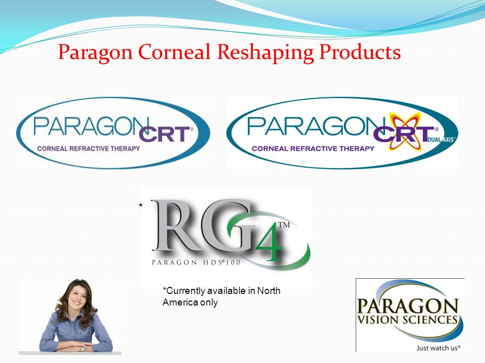 Paragon Corneal Reshaping Products