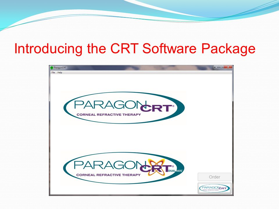 Introducing the CRT Software Package