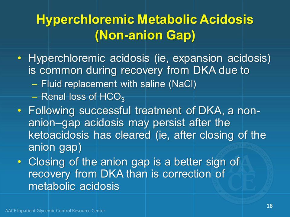 Hyperchloremic Metabolic Acidosis (Non-anion Gap)