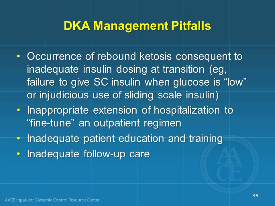 DKA Management Pitfalls