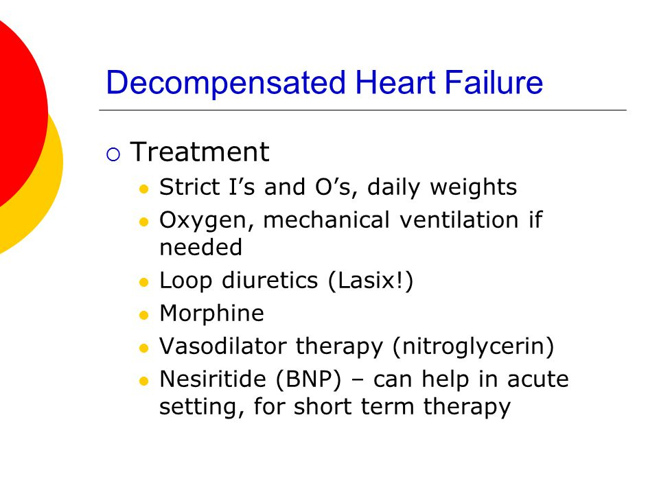 Decompensated Heart Failure