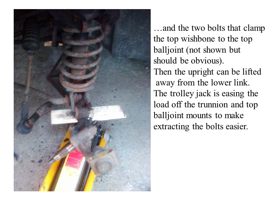 …and the two bolts that clamp