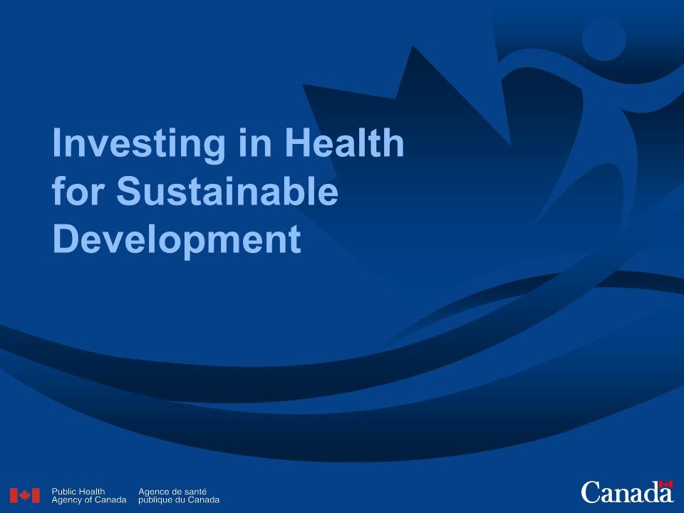 Investing in Health for Sustainable Development