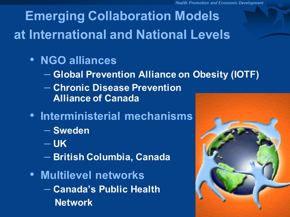 Emerging Collaboration Models at International and National Levels