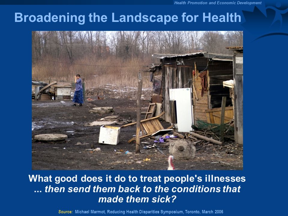 Broadening the Landscape for Health
