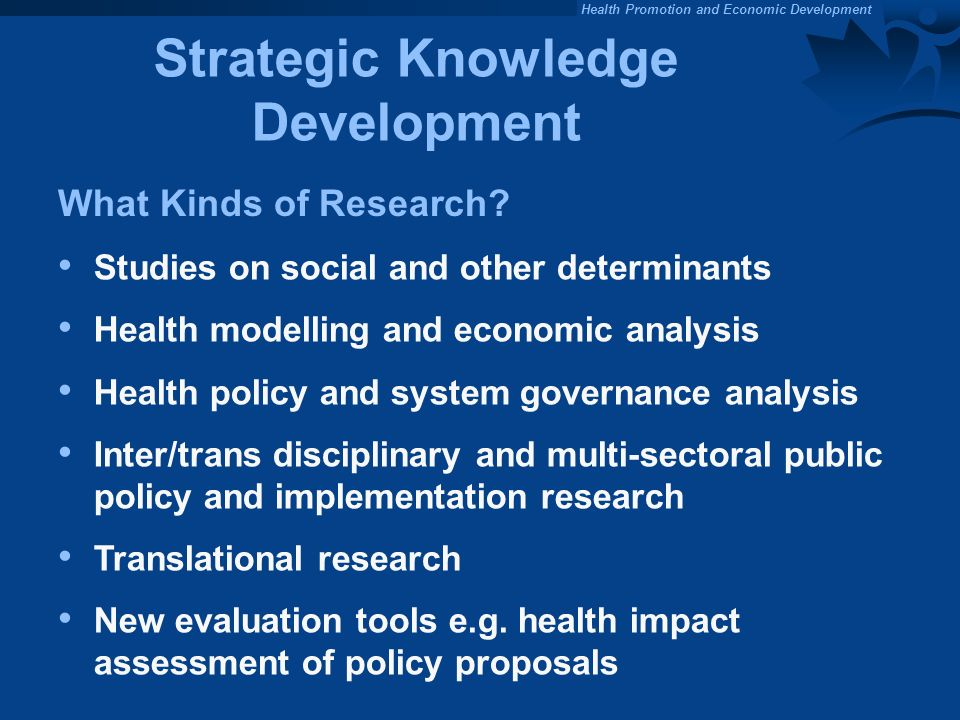Strategic Knowledge Development