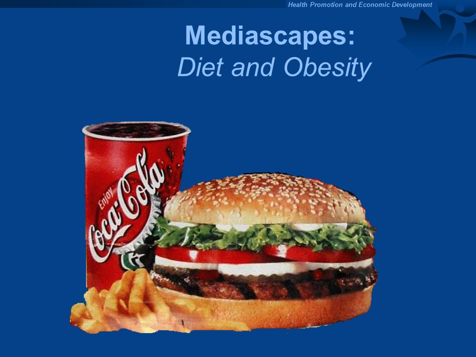 Mediascapes: Diet and Obesity