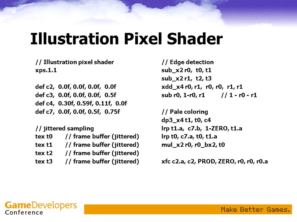 Illustration Pixel Shader