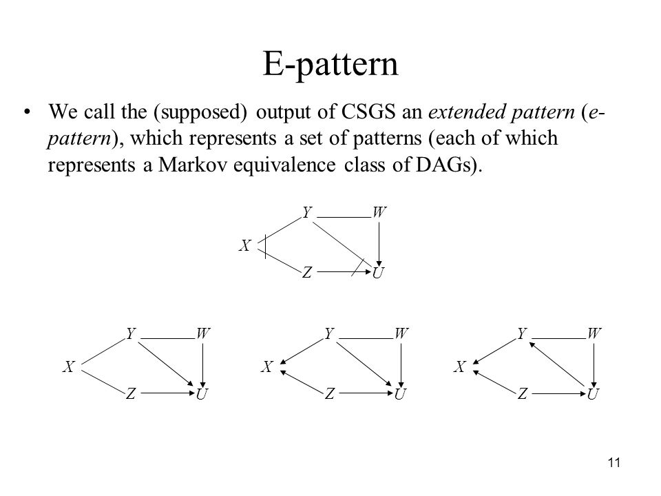 E-pattern