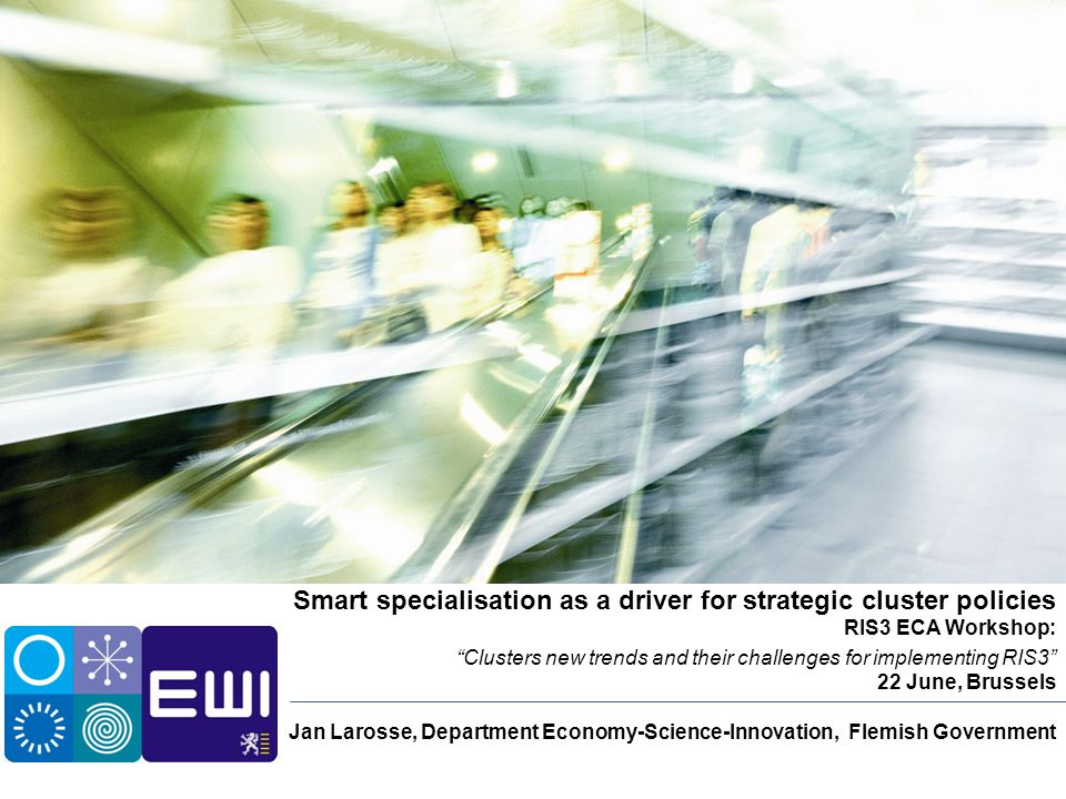 Smart specialisation as a driver for strategic cluster policies