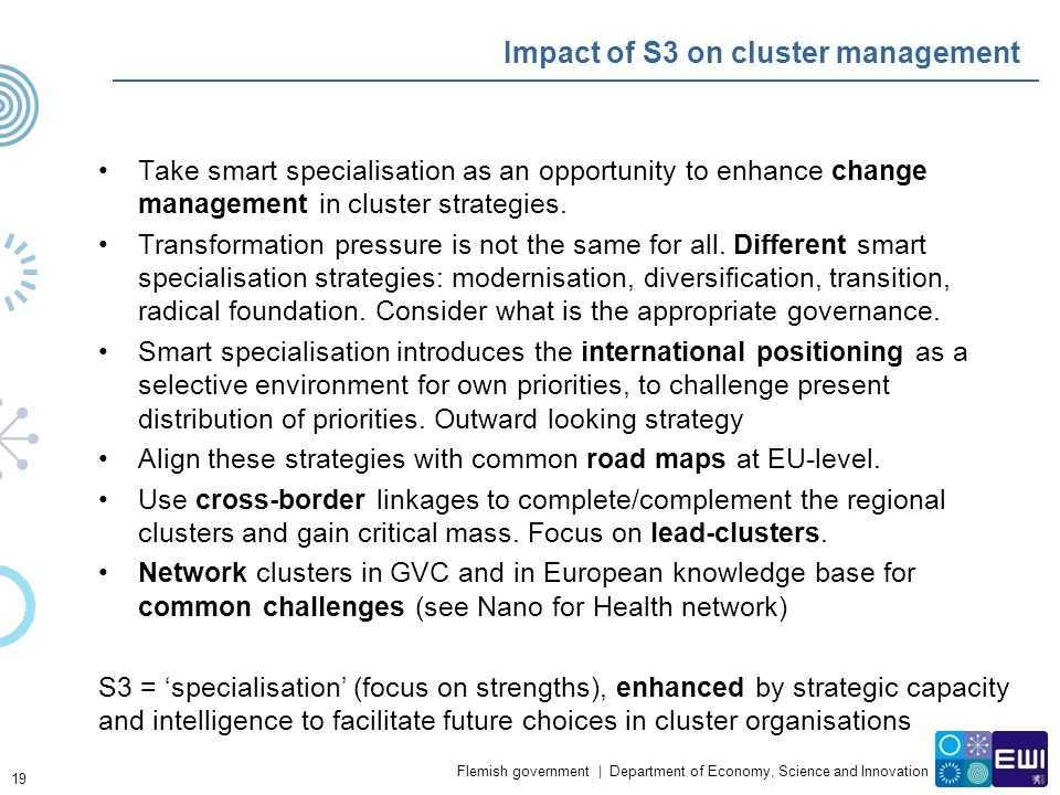 Impact of S3 on cluster management