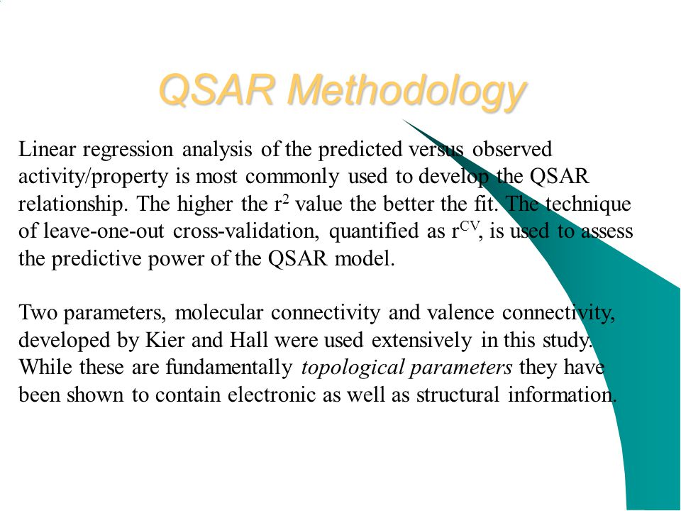QSAR Methodology