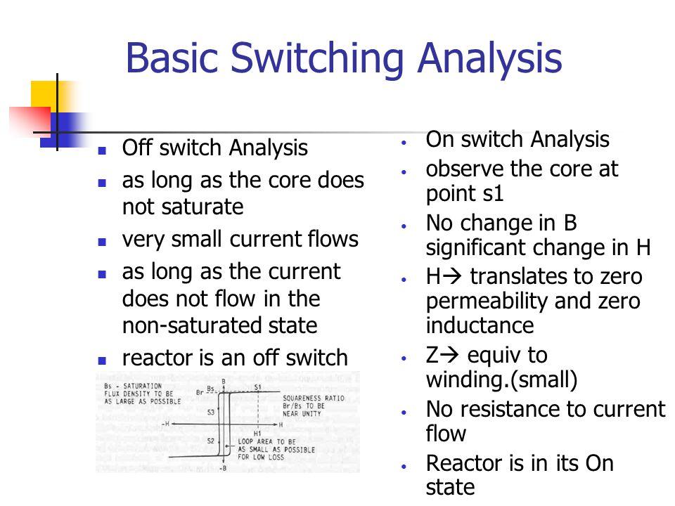 Basic Switching Analysis