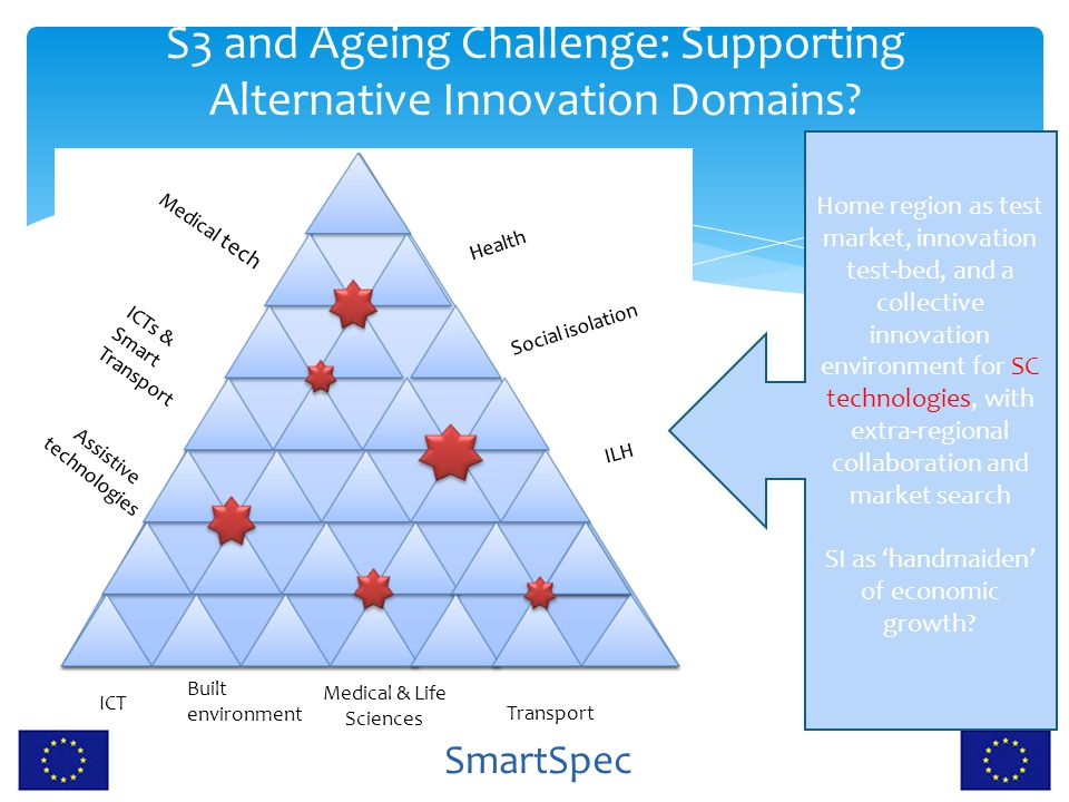 S3 and Ageing Challenge: Supporting Alternative Innovation Domains