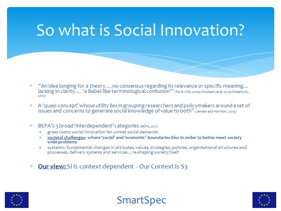 So what is Social Innovation