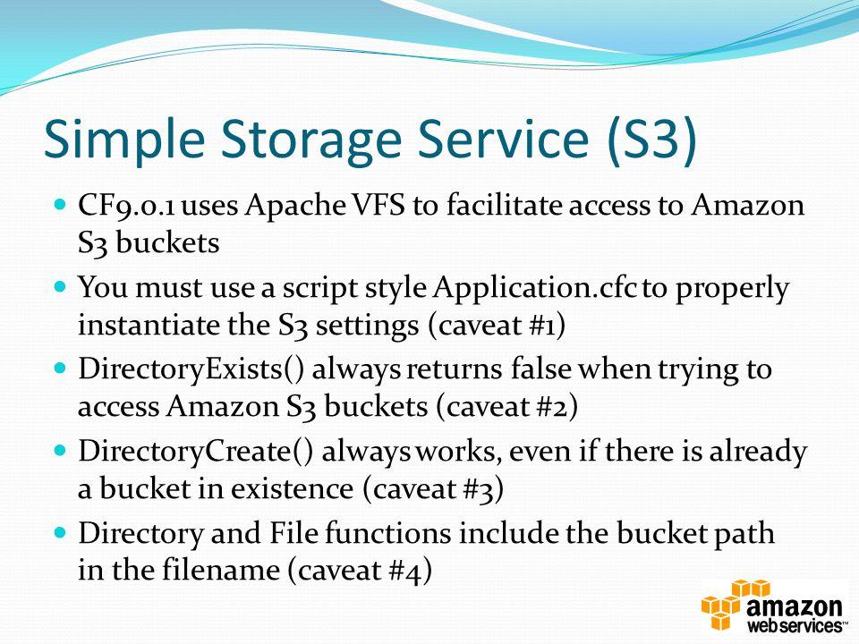 Simple Storage Service (S3)