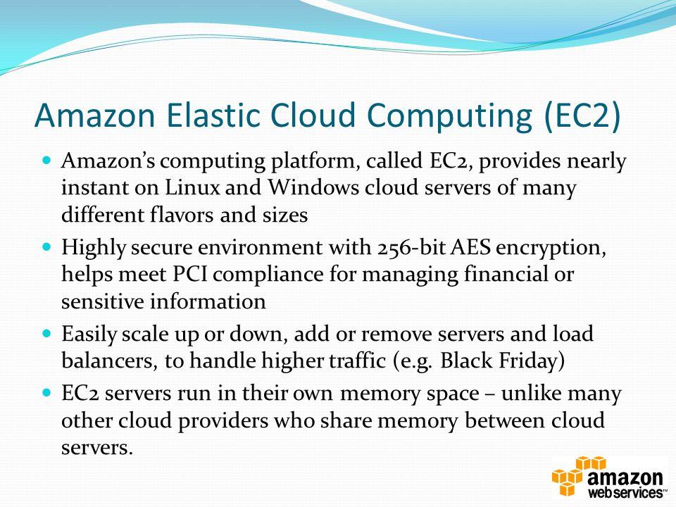 Amazon Elastic Cloud Computing (EC2)