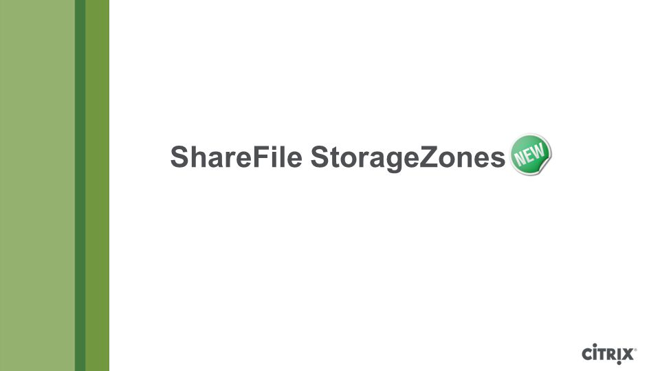 ShareFile StorageZones