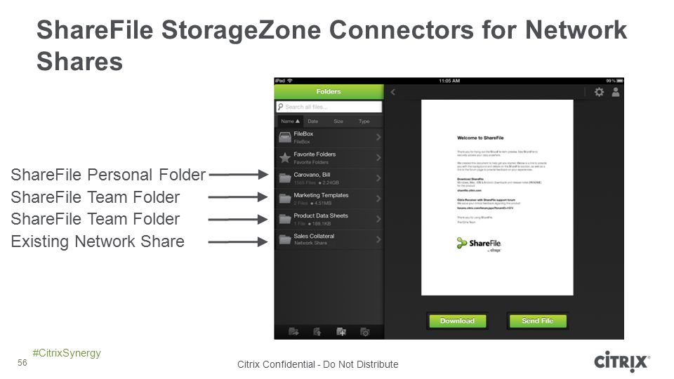 ShareFile StorageZone Connectors for Network Shares