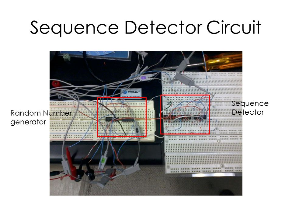 Sequence Detector Circuit