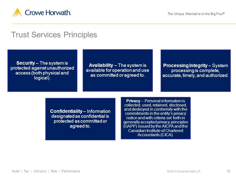 Trust Services Principles