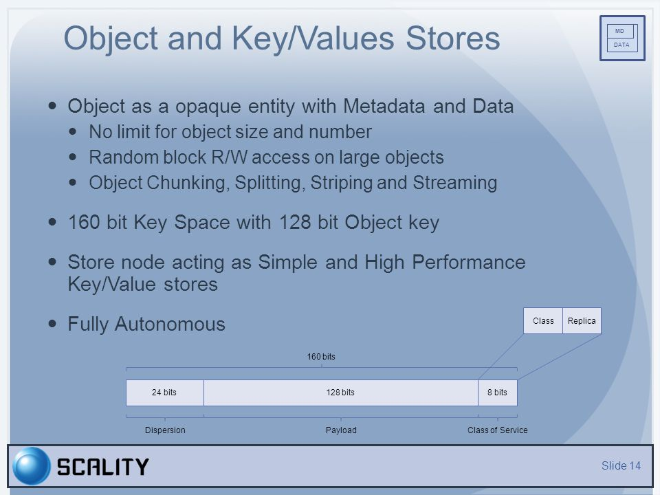 Object and Key/Values Stores
