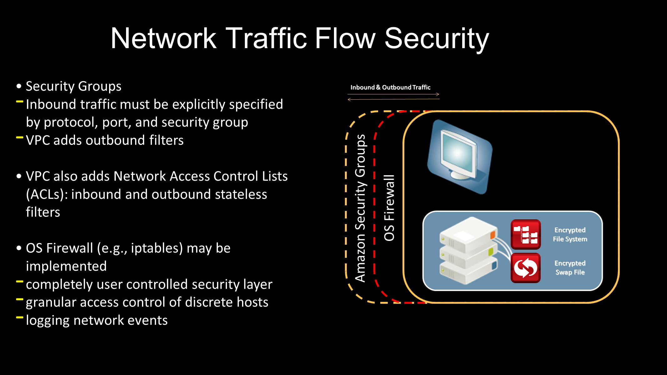 Network Traffic Flow Security