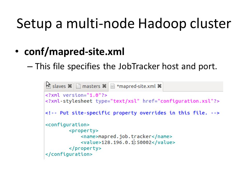 setup single node hadoop cluster on This page continues with the following documentation about configuring a  hadoop multi-nodes cluster via adding a new edge node to configure  administration.