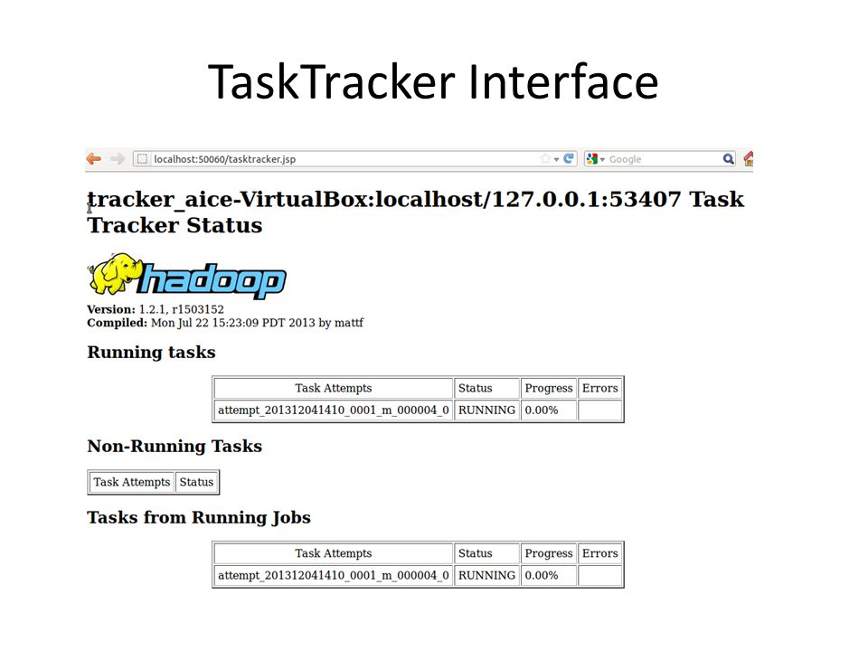 TaskTracker Interface
