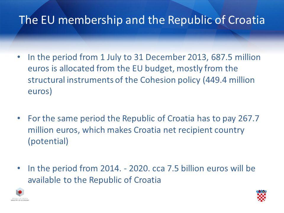 The EU membership and the Republic of Croatia
