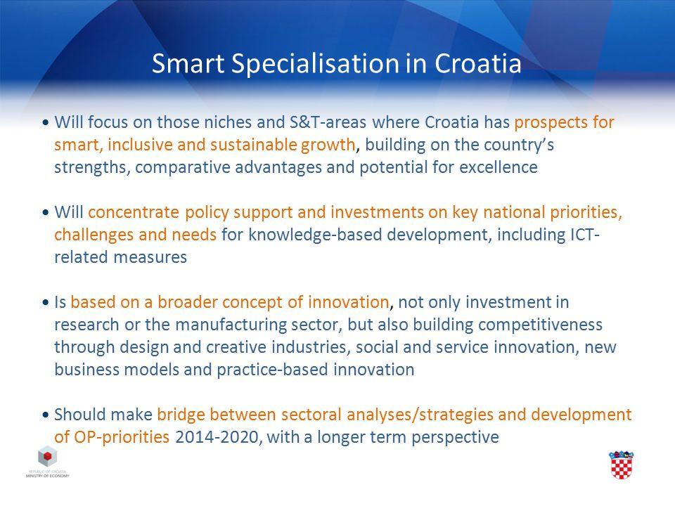 Smart Specialisation in Croatia