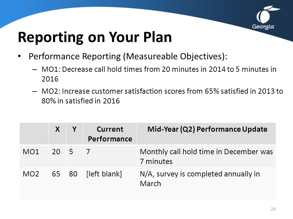 Agency Training: FY 2014 Strategic Planning