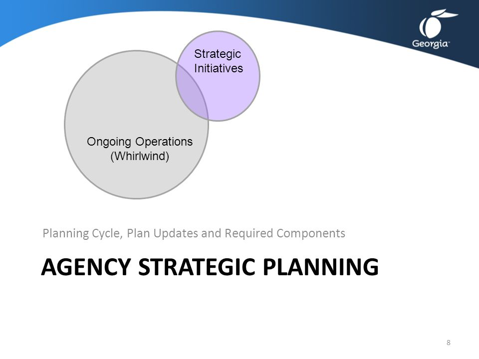 Agency Strategic Planning