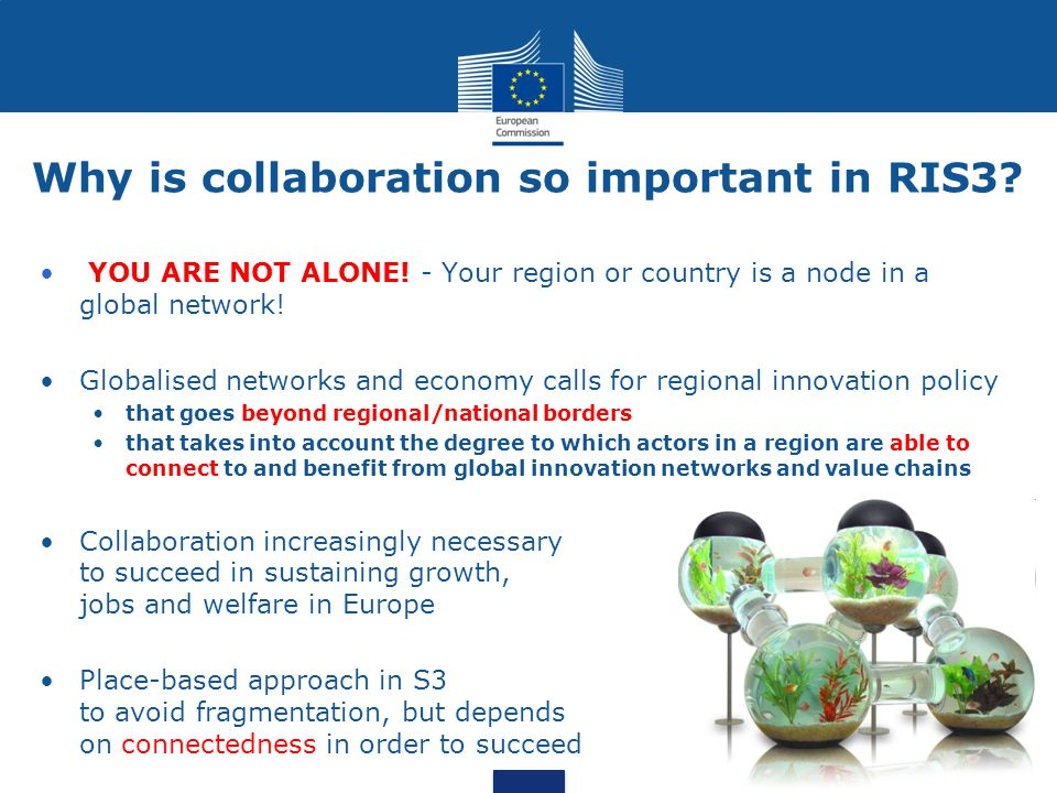 Why is collaboration so important in RIS3