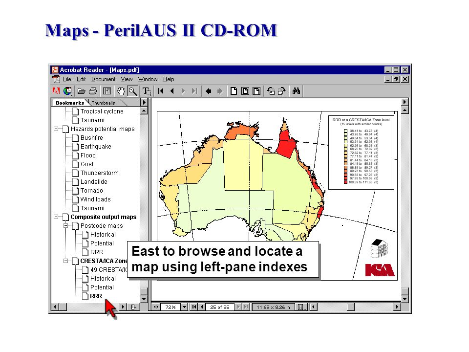 Maps - PerilAUS II CD-ROM