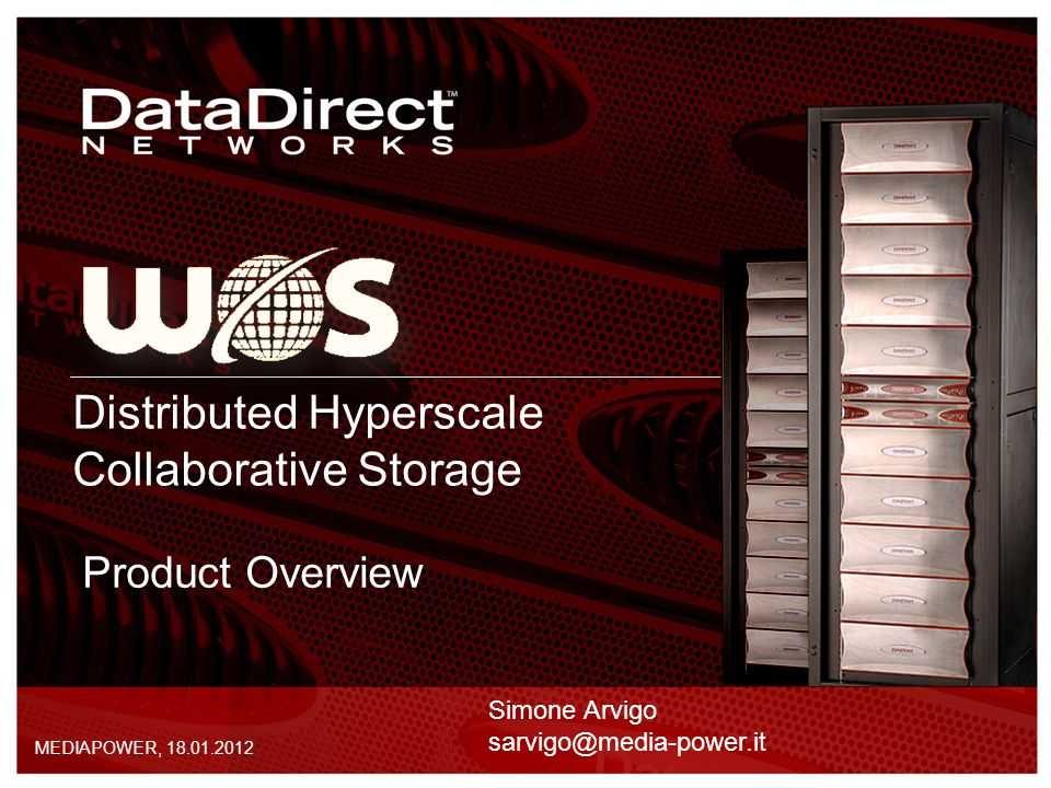 Distributed Hyperscale Collaborative Storage