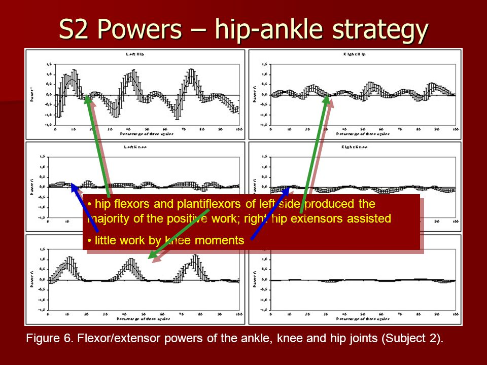 S2 Powers – hip-ankle strategy