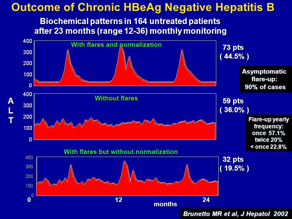 Outcome of Chronic HBeAg Negative Hepatitis B