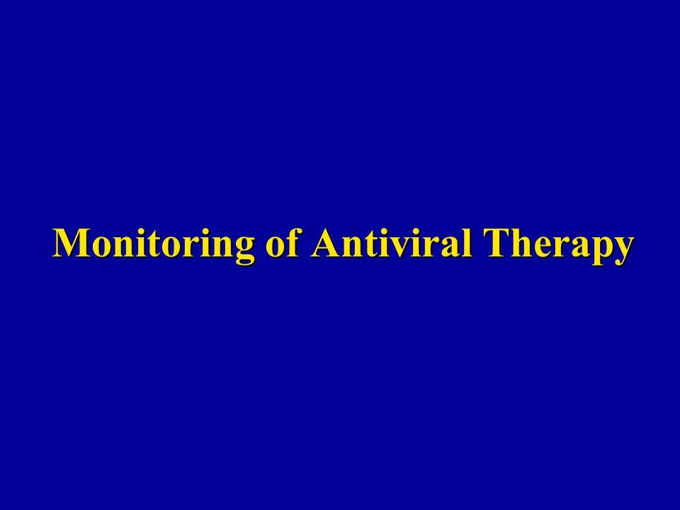 Monitoring of Antiviral Therapy