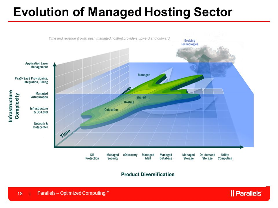 Evolution of Managed Hosting Sector