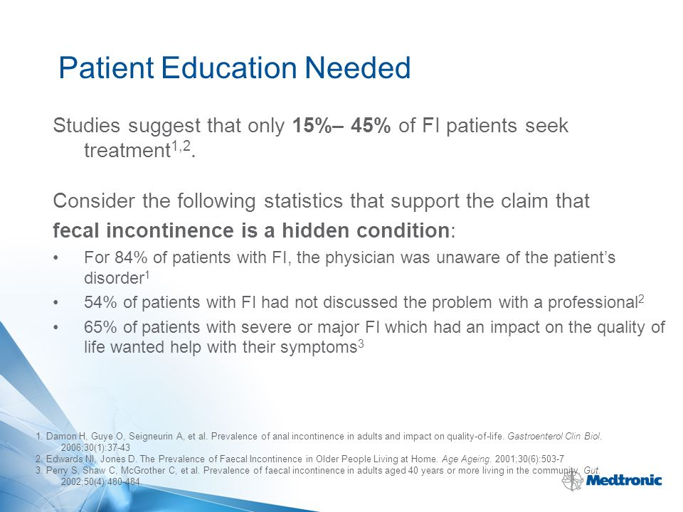 Patient Education Needed