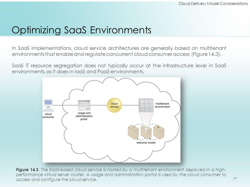 Optimizing SaaS Environments