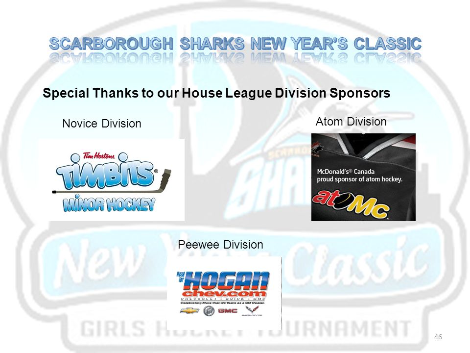 SCARBOROUGH SHARKS NEW YEAR'S CLASSIC