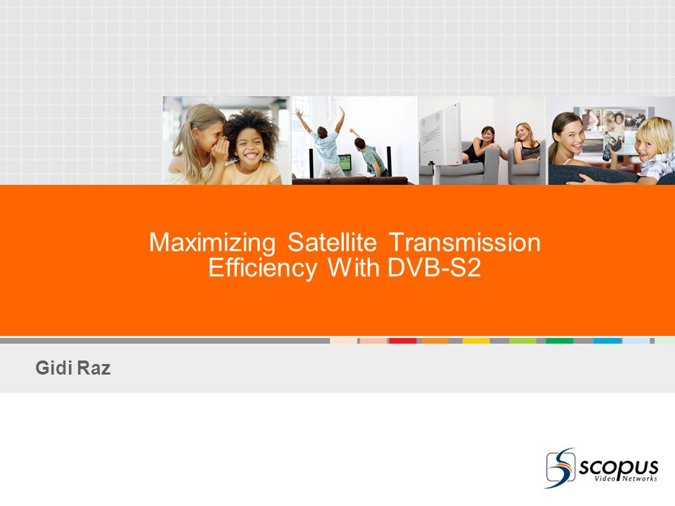 Maximizing Satellite Transmission Efficiency With DVB-S2