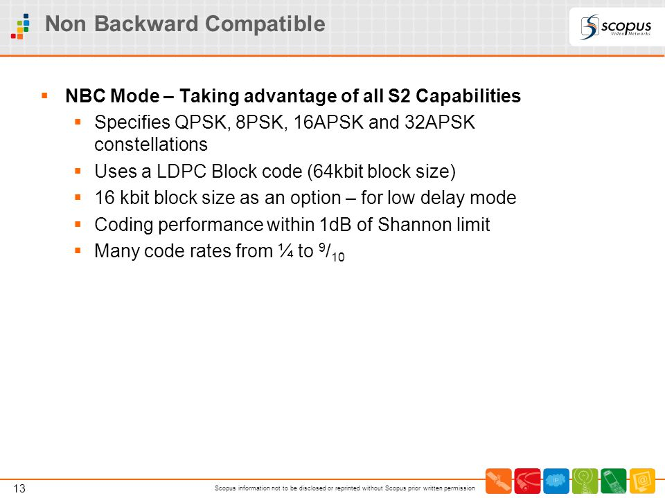 Non Backward Compatible