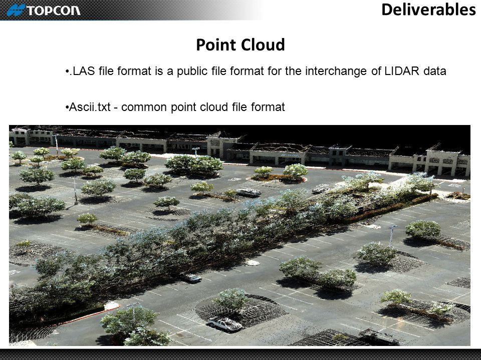Deliverables Point Cloud