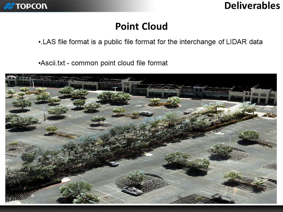 Deliverables Point Cloud