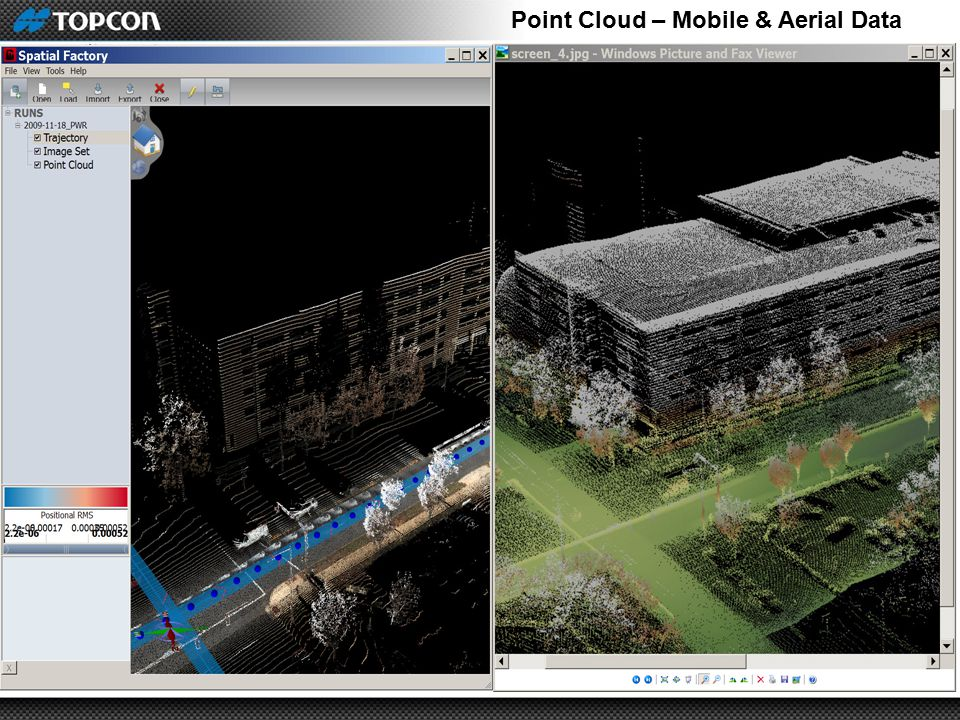 Point Cloud – Mobile & Aerial Data