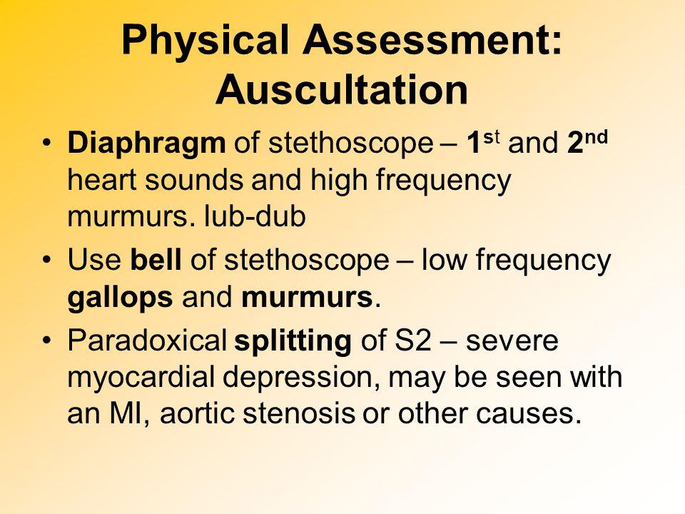 Physical Assessment: Auscultation